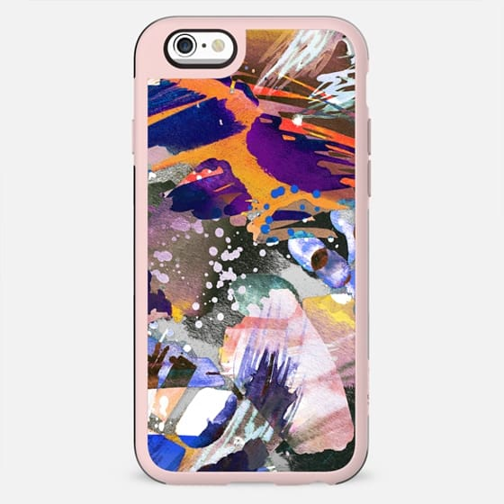 Watercolor abstract colourful painting - New Standard Case