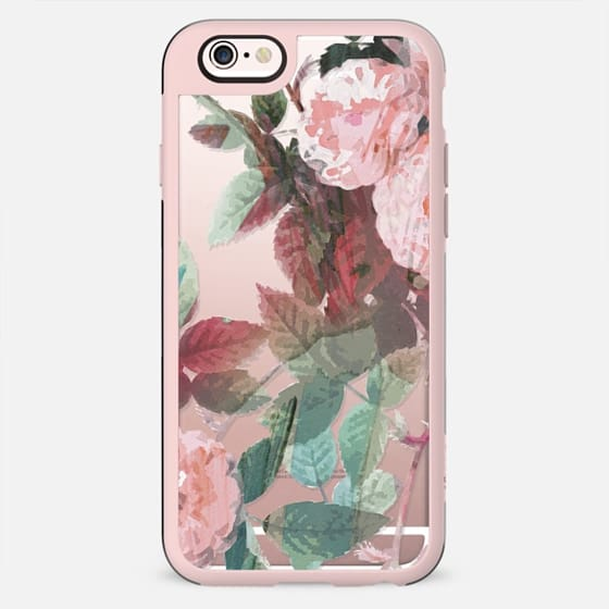 Pink painted roses - New Standard Case