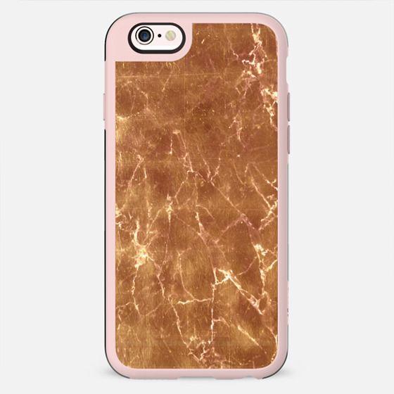 Golden cracked marble - New Standard Case