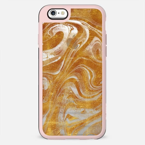 Liquid gold dust marble - New Standard Case