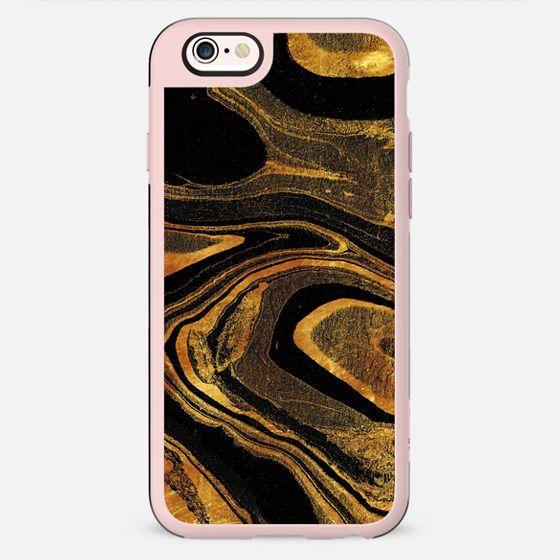 Golden marble paint lines - New Standard Case