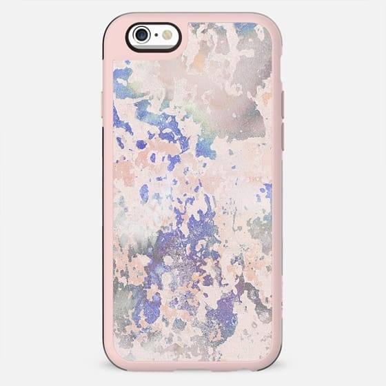 Pastel pink cracked marble - New Standard Case
