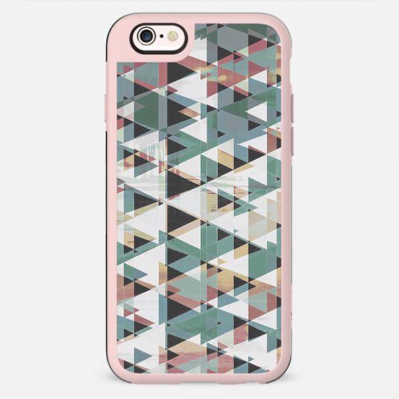 Geometric triangles glitch forest