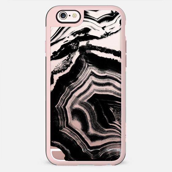Black marble ink lines - New Standard Case