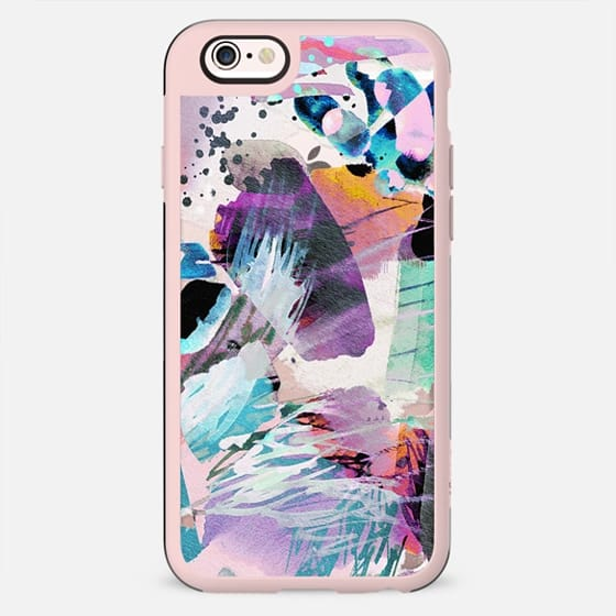Watercolor colourful abstract paint - New Standard Case