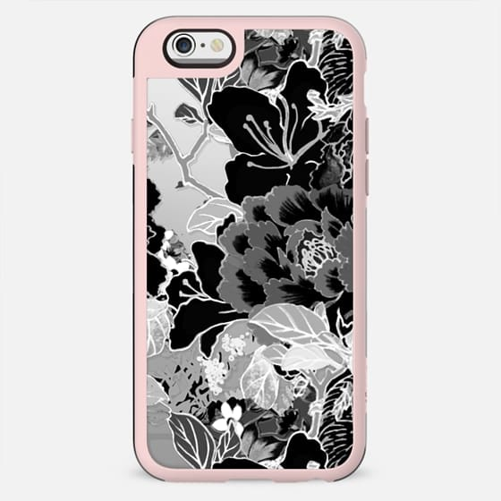 Black and white vintage flowers - New Standard Case