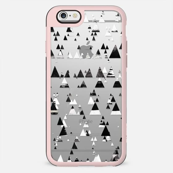 Black and white brushed triangles - New Standard Case