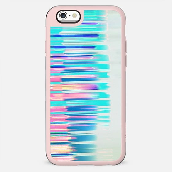 Gradient neon pastel stripes