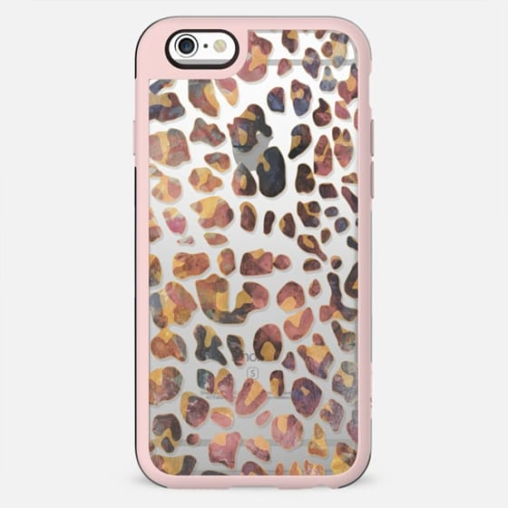 Colourful pastel animal print
