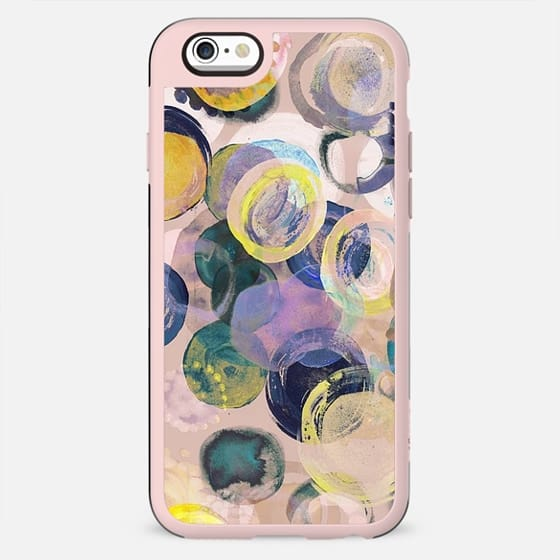 Pastel watercolor dots - New Standard Case