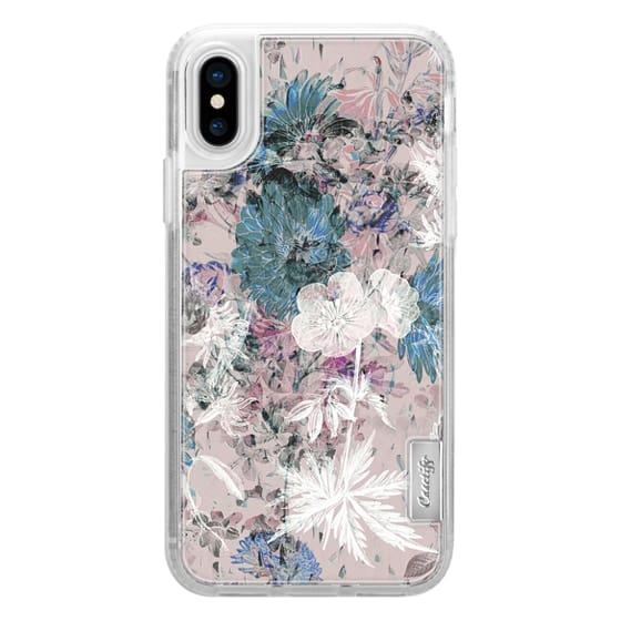 iPhone 7 Plus Cases - Pink pastel liniar botanical