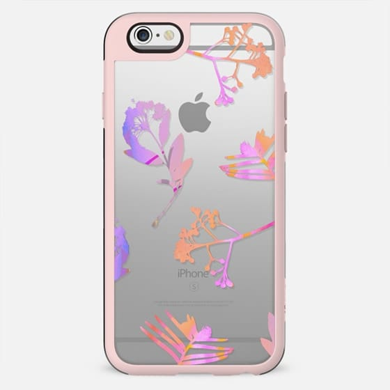 Pink transparent flowers - New Standard Case