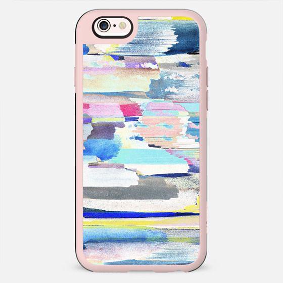 Colourful painted brushstroke art - New Standard Case