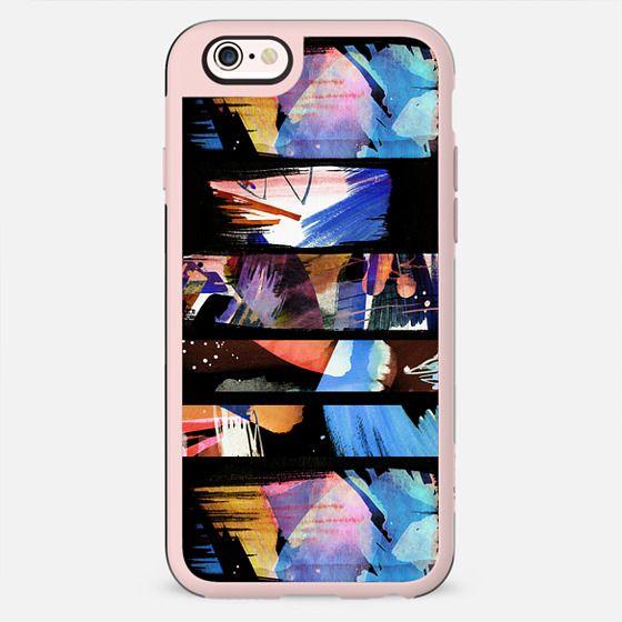 Artistic colourful brushstrokes - New Standard Case