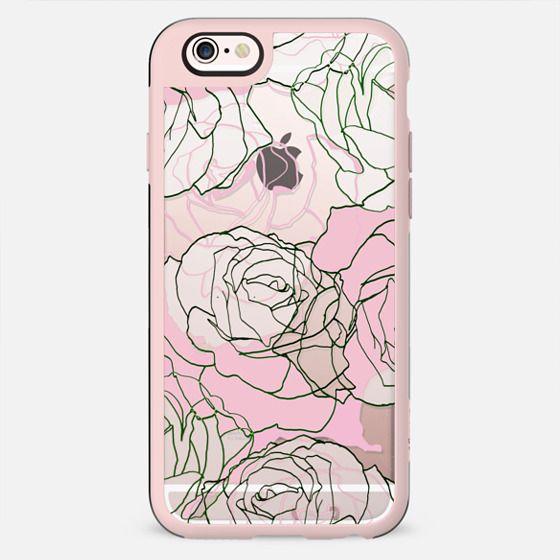 Roses line art - New Standard Case