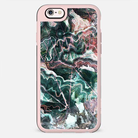 Emerald green cut agate marble