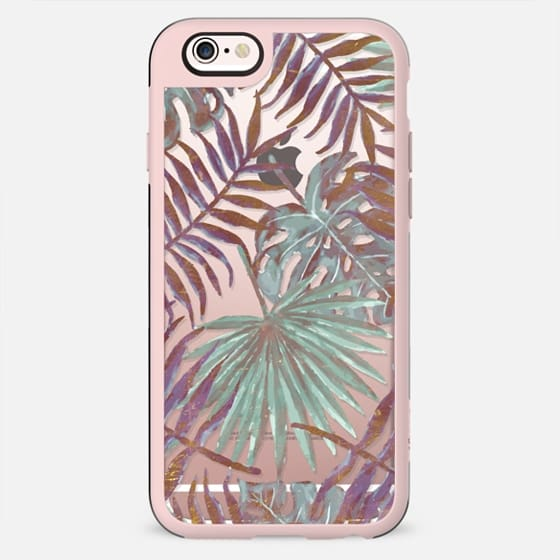 Pastel exotic leaves - New Standard Case