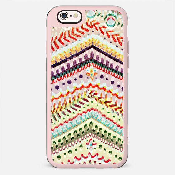 Colourful ethnic decorative stripes - New Standard Case