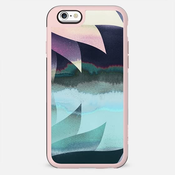 Abstract gradient painted lotus - New Standard Case