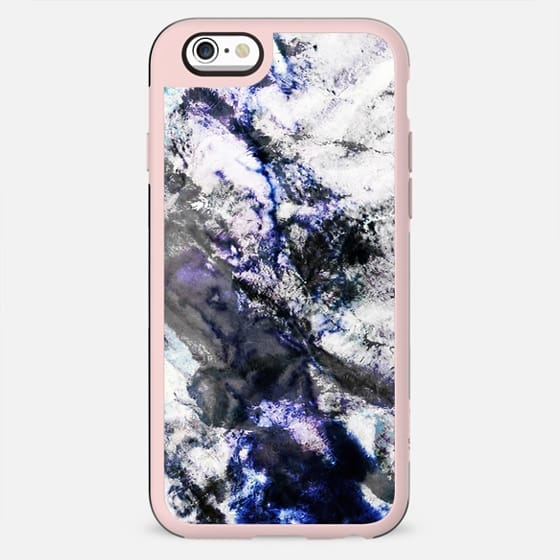 Abstract snowy landscape from above - New Standard Case