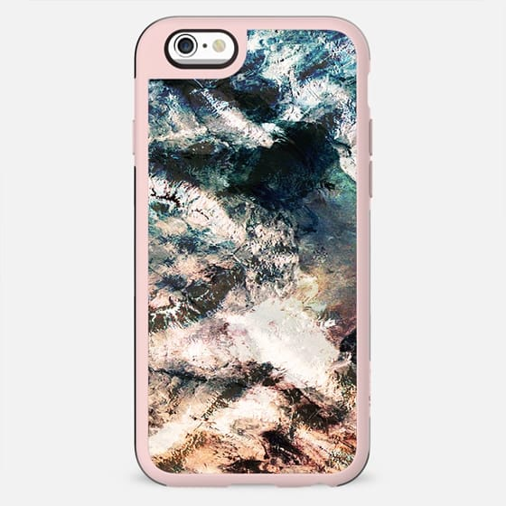 Abstract winter landscape from above - New Standard Case