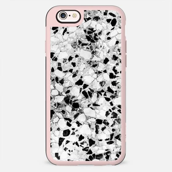 Black and white small stones pattern - New Standard Case