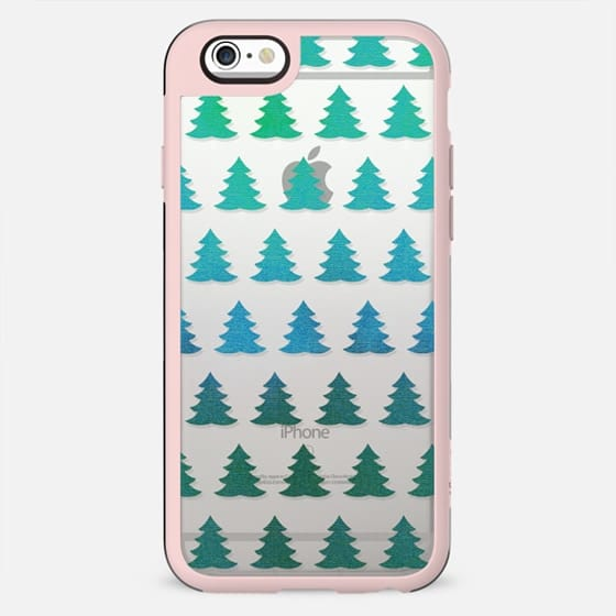 Sparkle green pine trees - New Standard Case