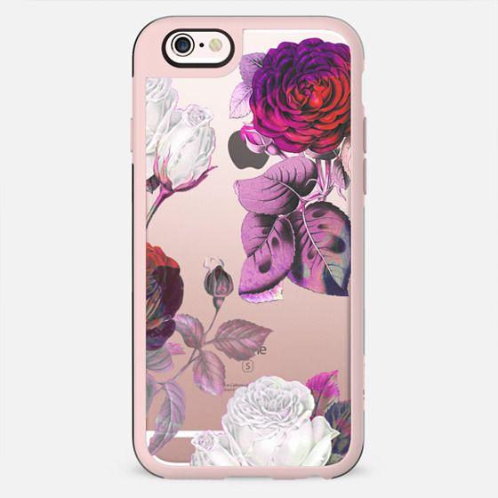 Red pink roses botanical illustration - New Standard Case