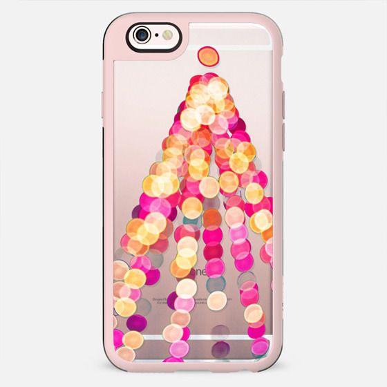 Bokeh night lights Christmas tree - New Standard Case