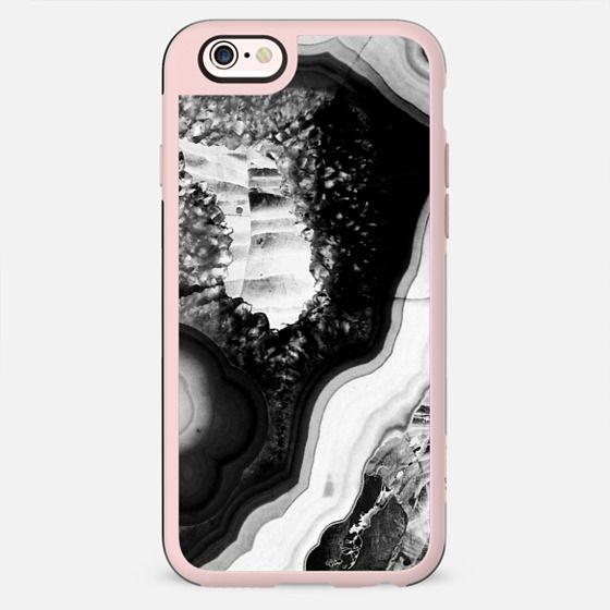 Black agate marble cut - New Standard Case