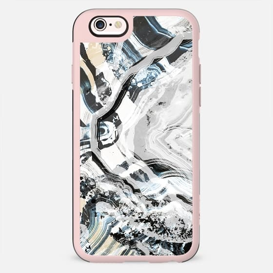 Pastel Marble cut brushed agata - New Standard Case
