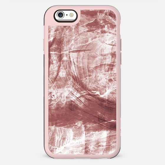 Pastel sepia painted marble lines - New Standard Case