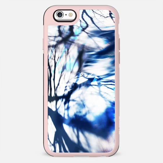 tree branches reflection in the snow - New Standard Case