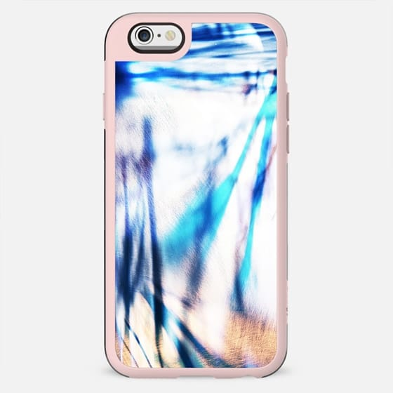 Blue abstract lines - New Standard Case