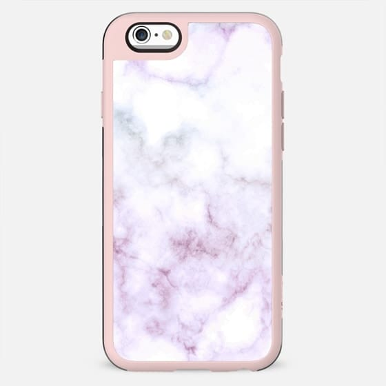 Elegant white pink marble