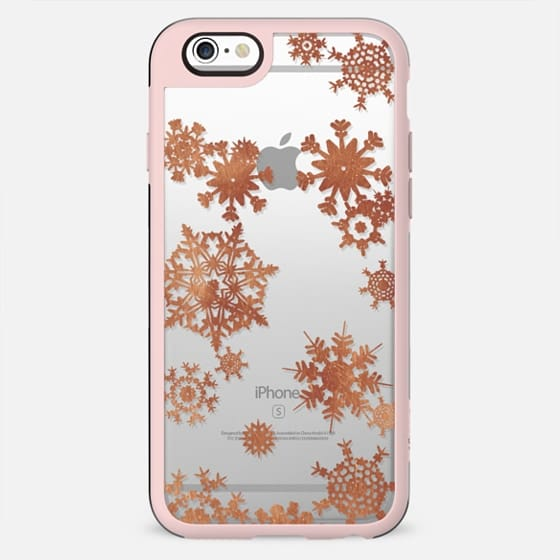 Golden lace snowflakes - New Standard Case