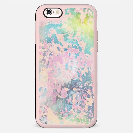 Star dust peeled off watercolor paint - New Standard Case