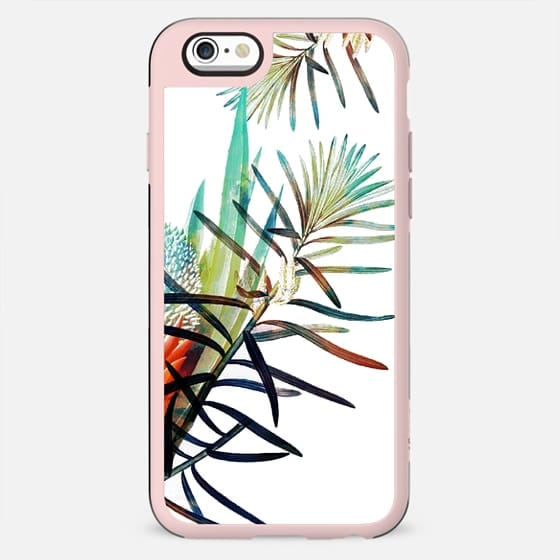 White simple tropical flower - New Standard Case
