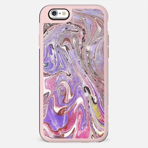 pink purple marble paint - New Standard Case