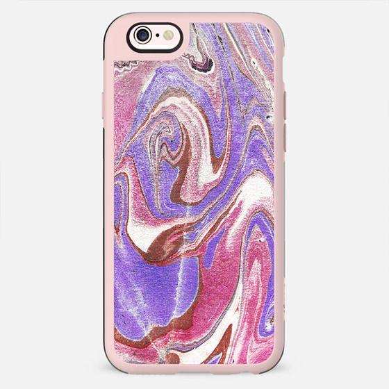 pink purple marble art - New Standard Case