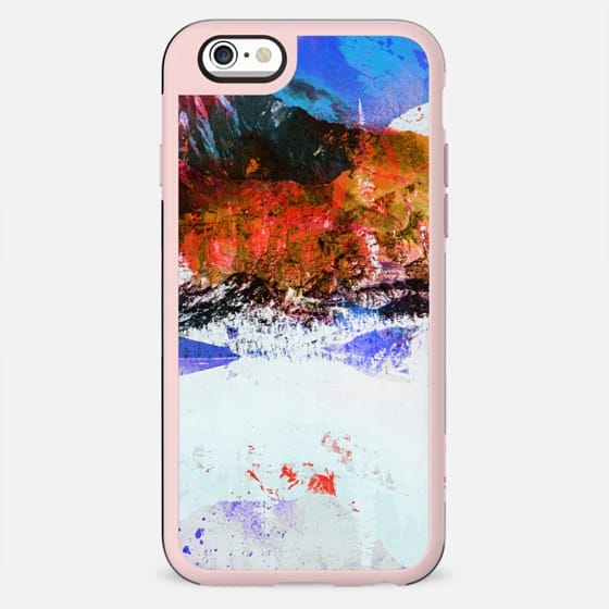 Abstract winter painted landscape - New Standard Case