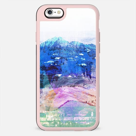 Pastel mountain landscape paint - New Standard Case