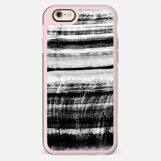 Black ink brushstrokes - New Standard Case