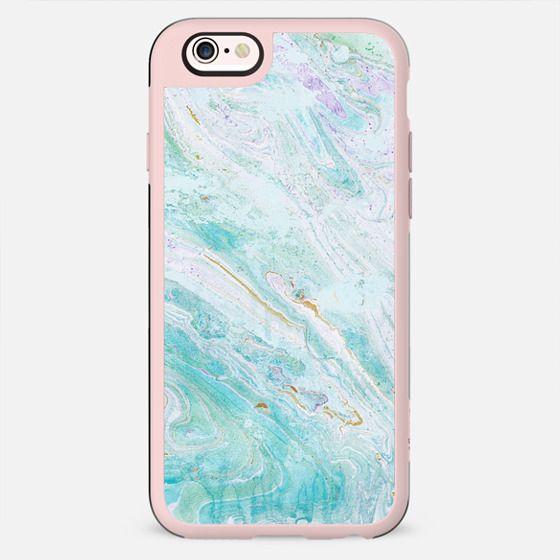 blue elegant marble - New Standard Case