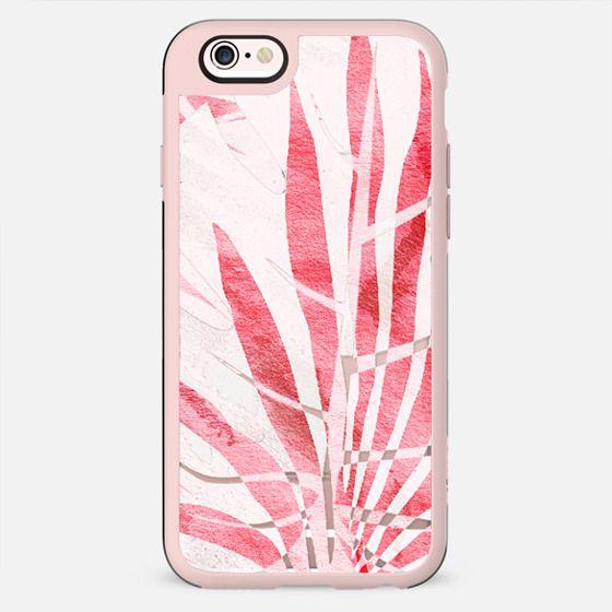 Light pink tropical leaf - transparent