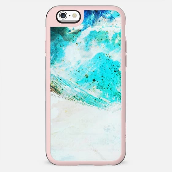 Painted mountain marble transparent - New Standard Case