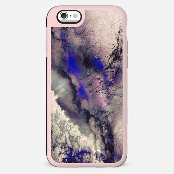 Storm marble purple clouds - New Standard Case