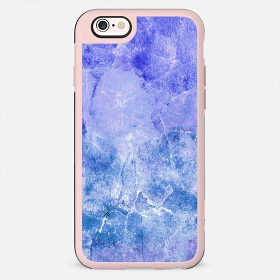 Rich blue precious marble