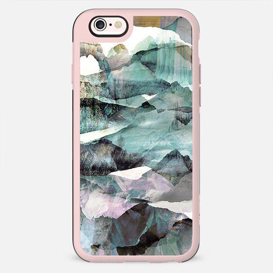 precious stones painted landscape