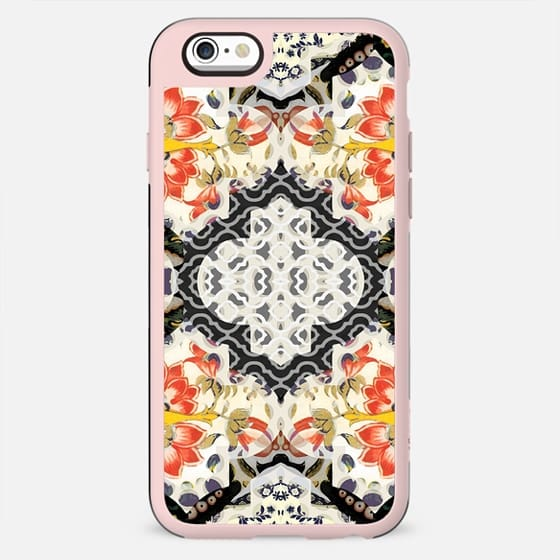 Elegant floral and foliage damask - New Standard Case